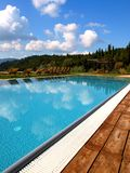 countryside pool Royalty Free Stock Photography