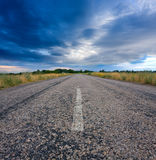 Countryside road Royalty Free Stock Photo