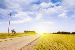 Countryside Road Royalty Free Stock Images