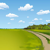 Countryside Road Stock Photos