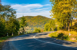 Countryside road in mountains Stock Photography