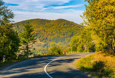 Countryside road in mountains Royalty Free Stock Image