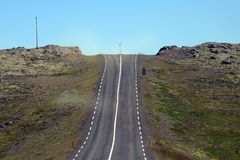 Road in Southern Iceland