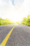 Countryside road Stock Image