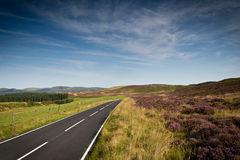 Countryside Road Royalty Free Stock Photography