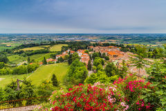 Countryside of Romagna in Italy Royalty Free Stock Photos