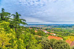 Countryside of Romagna in Italy Stock Photography