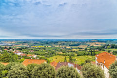 Countryside of Romagna in Italy Stock Image