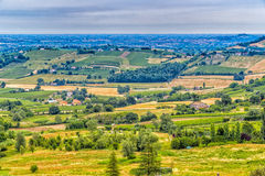 Countryside of Romagna in Italy Royalty Free Stock Images