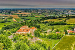 Countryside of Romagna in Italy Stock Photos