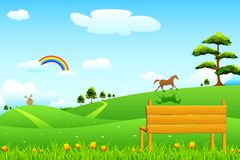 Countryside Rural Scene Royalty Free Stock Photo
