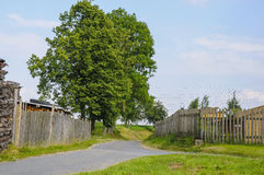 Countryside scenes in Czech - Radnavice Stock Photo