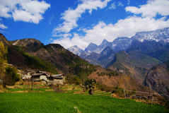 Countryside scenes, Yunnan, China Royalty Free Stock Photos
