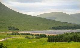 Countryside of  Scotland. Stock Image