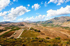 Countryside in Sicily Stock Photos