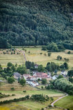 Countryside - Small Village Stock Photography