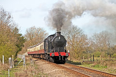 Countryside steam Stock Images