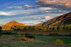 Countryside sunset Royalty Free Stock Image