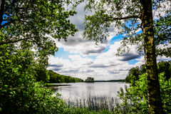 Countryside in sweden Royalty Free Stock Images