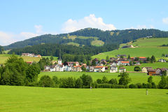 Countryside in Switzerland royalty free stock photography