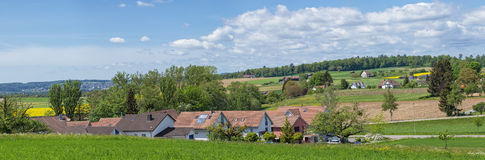 Countryside in Switzerland Royalty Free Stock Photos