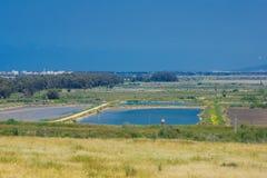 Countryside, Tel Afek Royalty Free Stock Images