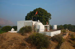 Countryside temple, Rajasthan, India Royalty Free Stock Photo