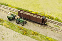 Countryside - toys Stock Photography