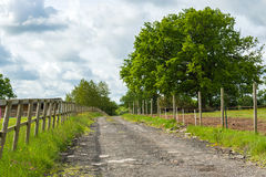 Countryside track Stock Images