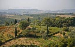 Countryside Tuscany Royalty Free Stock Photos