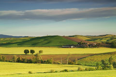 The countryside of Tuscany. Italy Stock Images