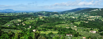 Countryside of Tuscany Stock Images