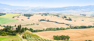 Countryside in Tuscany Stock Photography