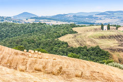 Countryside in Tuscany Royalty Free Stock Photo