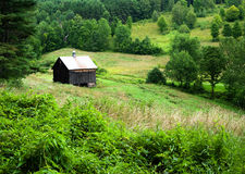 Countryside USA. A barn scene in the New England country side royalty free stock photos