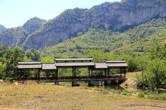 The countryside views in bamei villiage ,yunnan, china Royalty Free Stock Photos