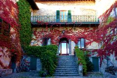 Countryside villa in Italy  Stock Image
