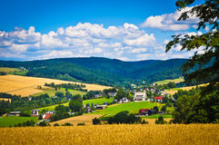 Countryside village royalty free stock images