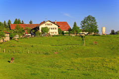Countryside village in Germany Stock Images
