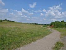 Countryside walkway path royalty free stock image