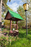 Countryside water well Stock Images
