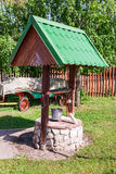 Countryside water well Royalty Free Stock Photography