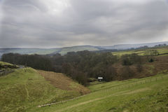 Countryside of west yorkshire in spring Stock Photo