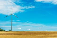 Countryside Wind Turbine Royalty Free Stock Image