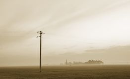 Countryside in winter Royalty Free Stock Images
