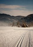 Countryside in winter Stock Photo