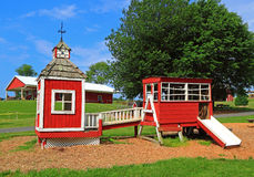 Countryside Wooden Playhouse Royalty Free Stock Photography