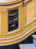 County Clerk Royalty Free Stock Images