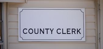 Free County Clerk Tax Office Stock Photos - 113609693