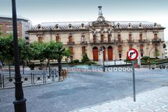 County Council offices Jaen city Andalu Stock Image